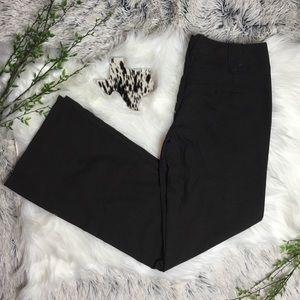 TRACY EVANS • Brown Wide Leg Dress Pants